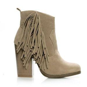 84e9c4bea8469 Joseph-02 Fringe Western Women's Booties Boutique